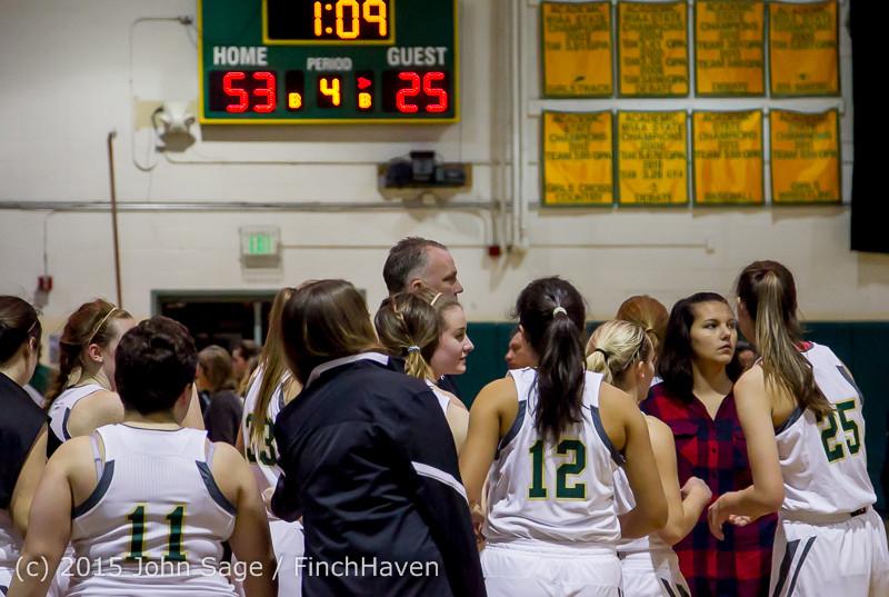 16780 Girls Varsity Basketball v Klahowya 120915