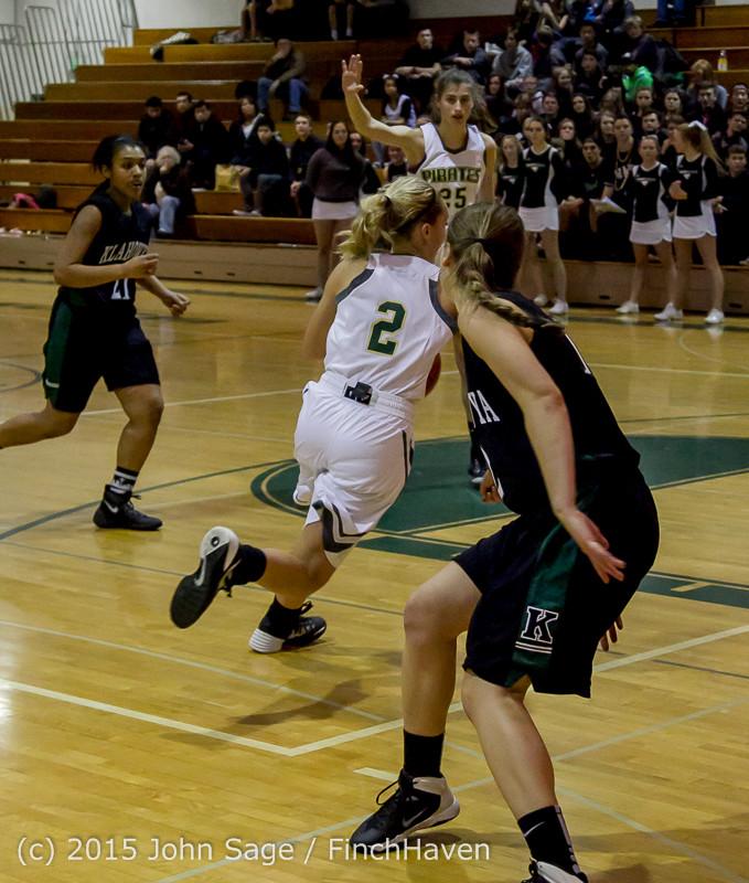 16834 Girls Varsity Basketball v Klahowya 120915