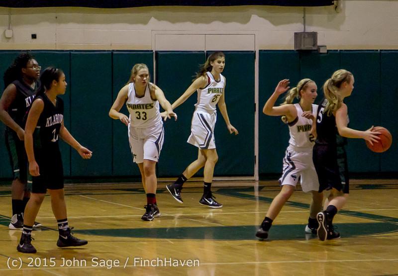 16846 Girls Varsity Basketball v Klahowya 120915