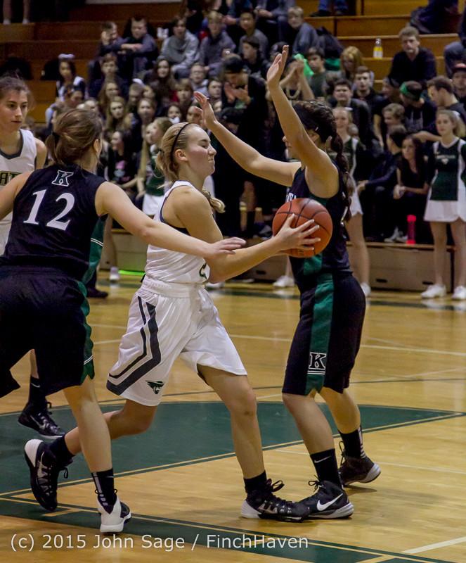 16855 Girls Varsity Basketball v Klahowya 120915