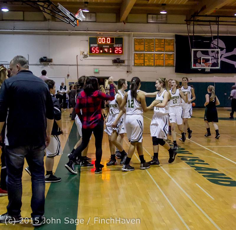 16892 Girls Varsity Basketball v Klahowya 120915