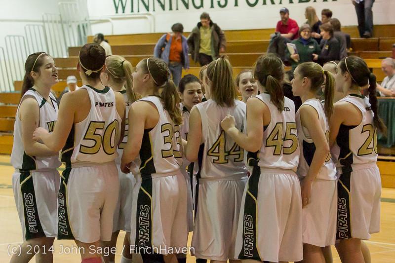 17729 Girls Varsity Basketball v CWA 01172014