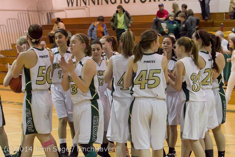 17732 Girls Varsity Basketball v CWA 01172014