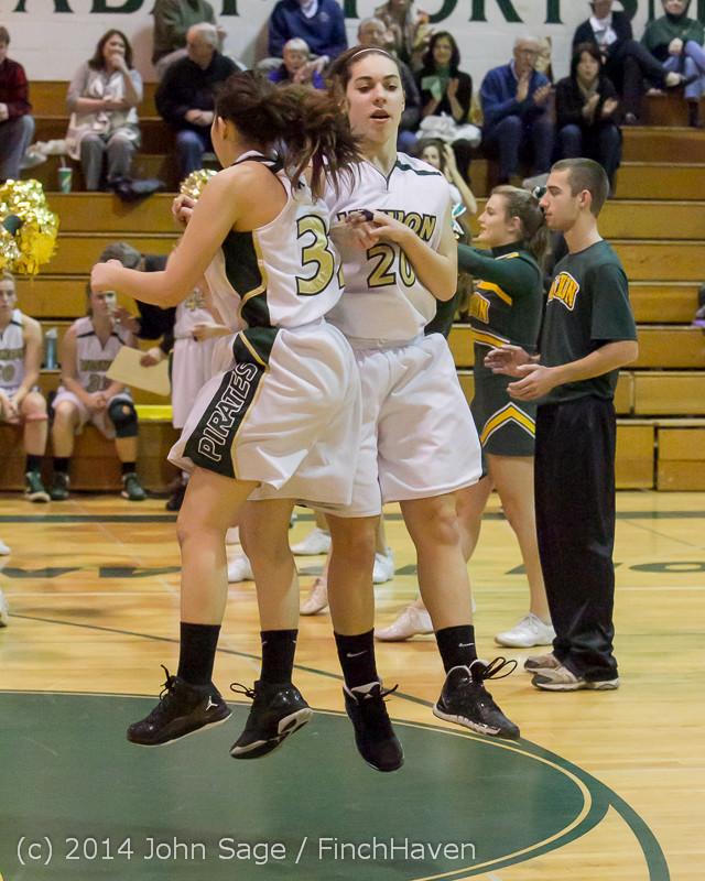 17767 Girls Varsity Basketball v CWA 01172014