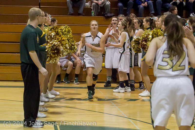 17776 Girls Varsity Basketball v CWA 01172014