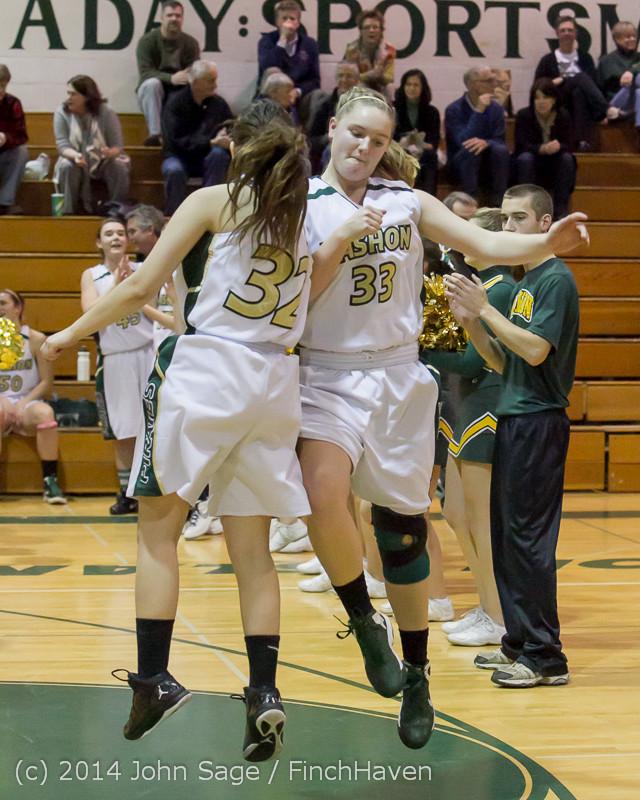 17784 Girls Varsity Basketball v CWA 01172014