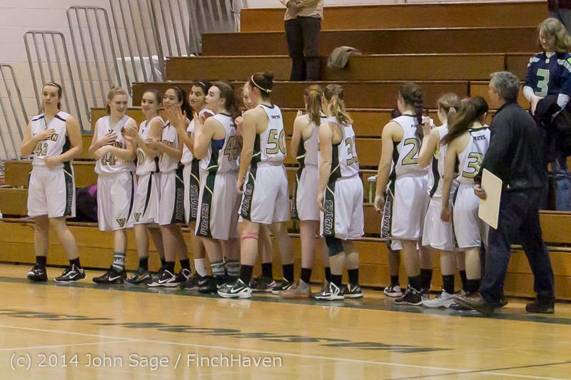 17843 Girls Varsity Basketball v CWA 01172014