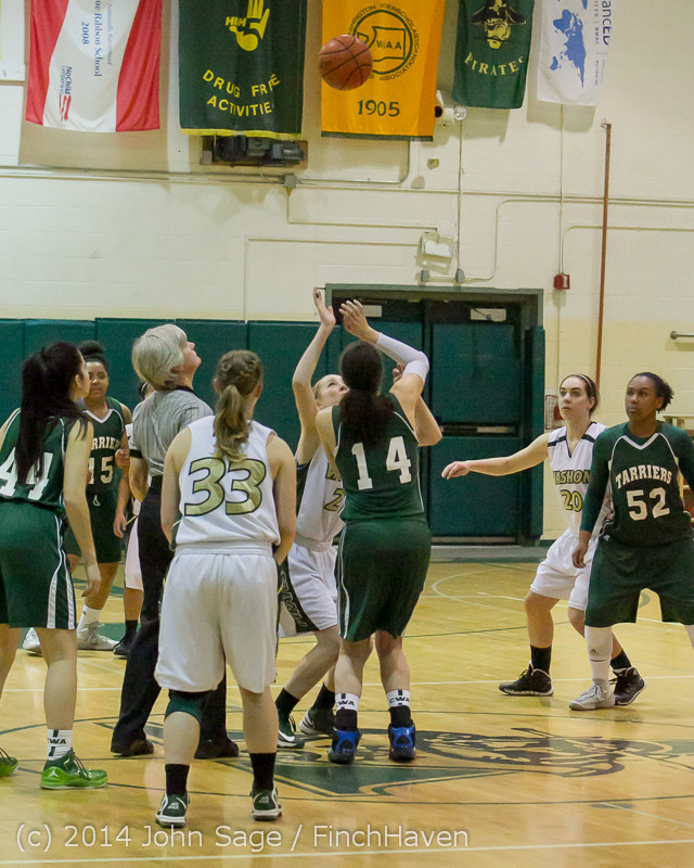 17852 Girls Varsity Basketball v CWA 01172014