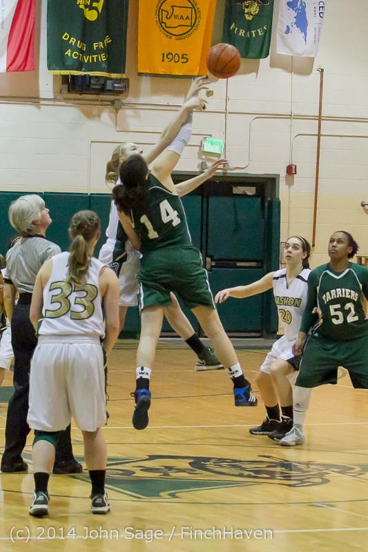 17855 Girls Varsity Basketball v CWA 01172014
