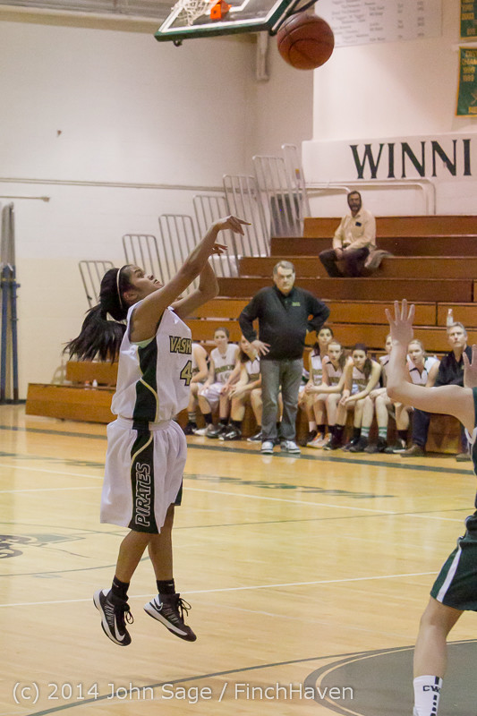 17925 Girls Varsity Basketball v CWA 01172014