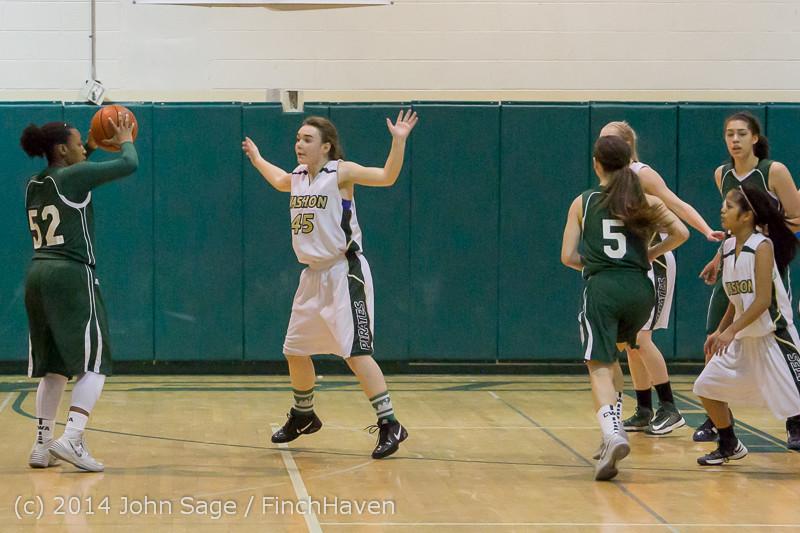 17933 Girls Varsity Basketball v CWA 01172014