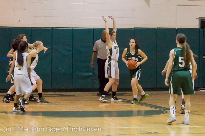 18007 Girls Varsity Basketball v CWA 01172014