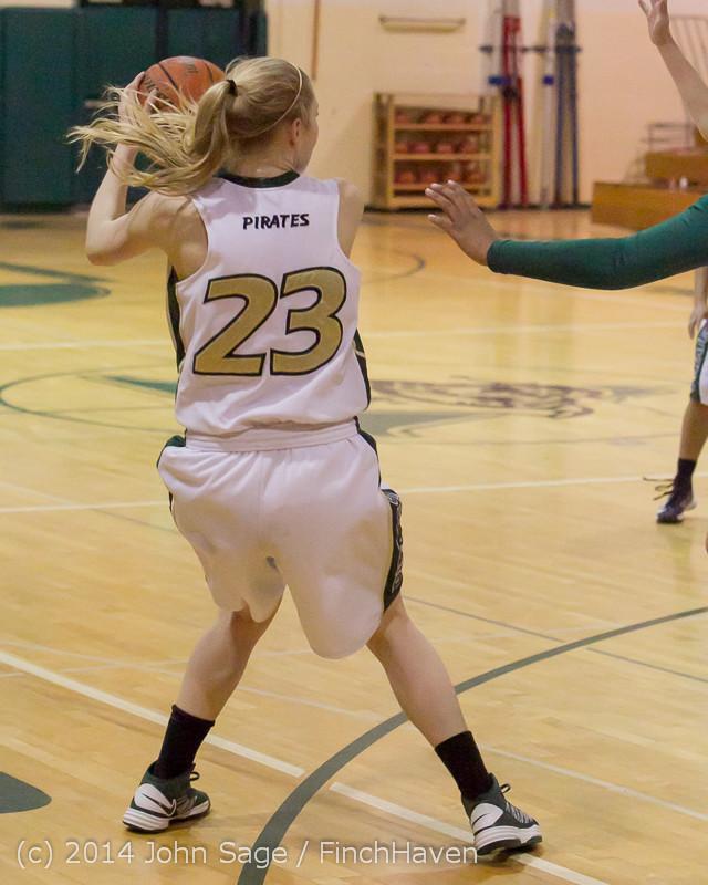18027 Girls Varsity Basketball v CWA 01172014