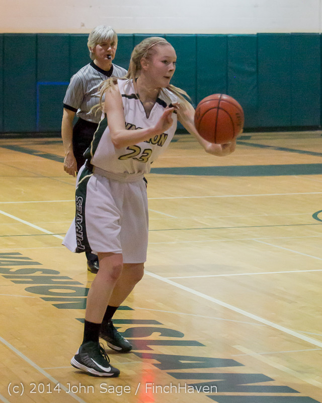 18158 Girls Varsity Basketball v CWA 01172014