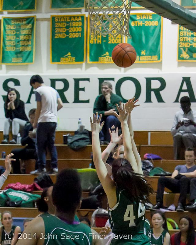 18186 Girls Varsity Basketball v CWA 01172014