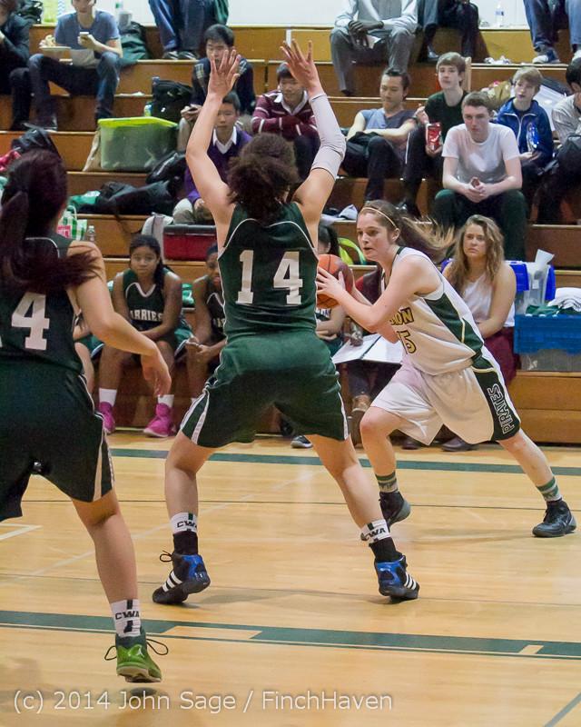 18298 Girls Varsity Basketball v CWA 01172014