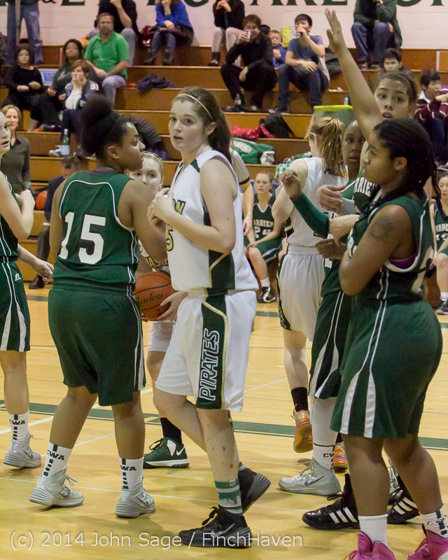 18525 Girls Varsity Basketball v CWA 01172014