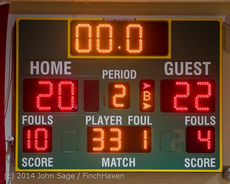 18645 Girls Varsity Basketball v CWA 01172014
