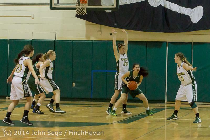 18756 Girls Varsity Basketball v CWA 01172014