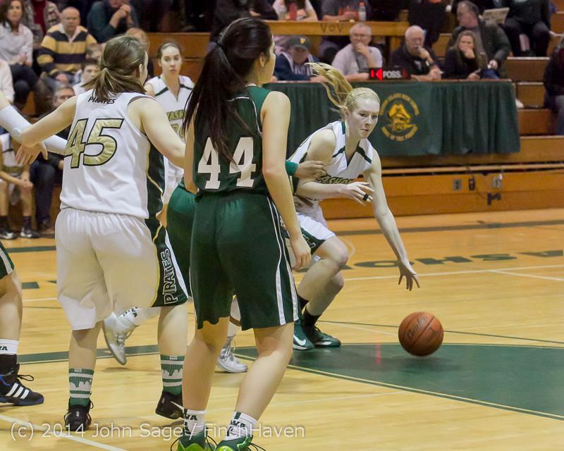 19117 Girls Varsity Basketball v CWA 01172014
