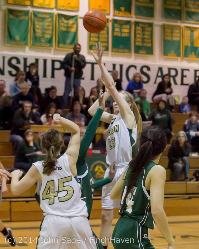 19124 Girls Varsity Basketball v CWA 01172014