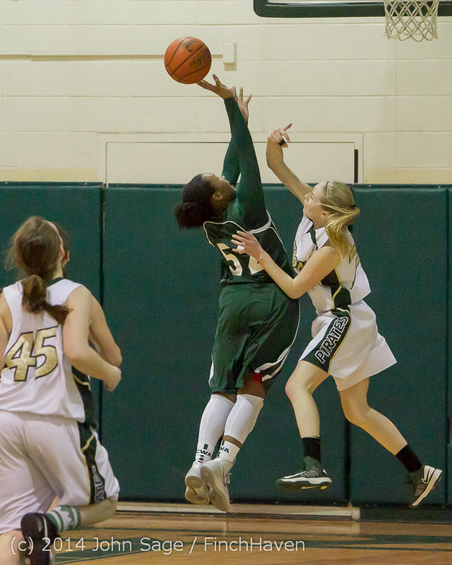 19165 Girls Varsity Basketball v CWA 01172014