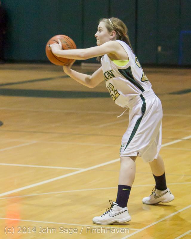 19183 Girls Varsity Basketball v CWA 01172014