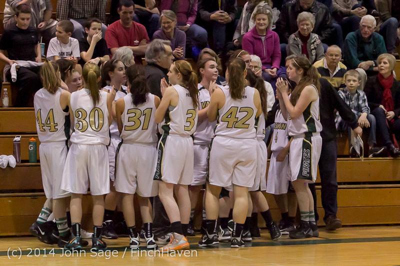 19447 Girls Varsity Basketball v CWA 01172014