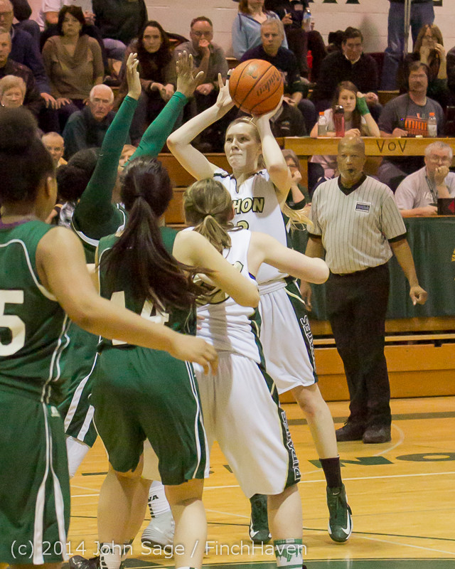 19471 Girls Varsity Basketball v CWA 01172014