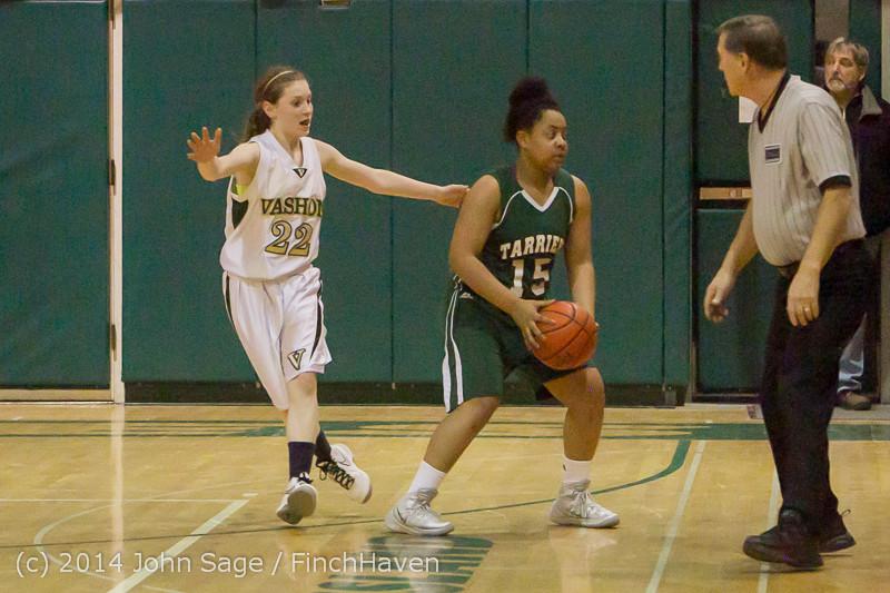 19608 Girls Varsity Basketball v CWA 01172014
