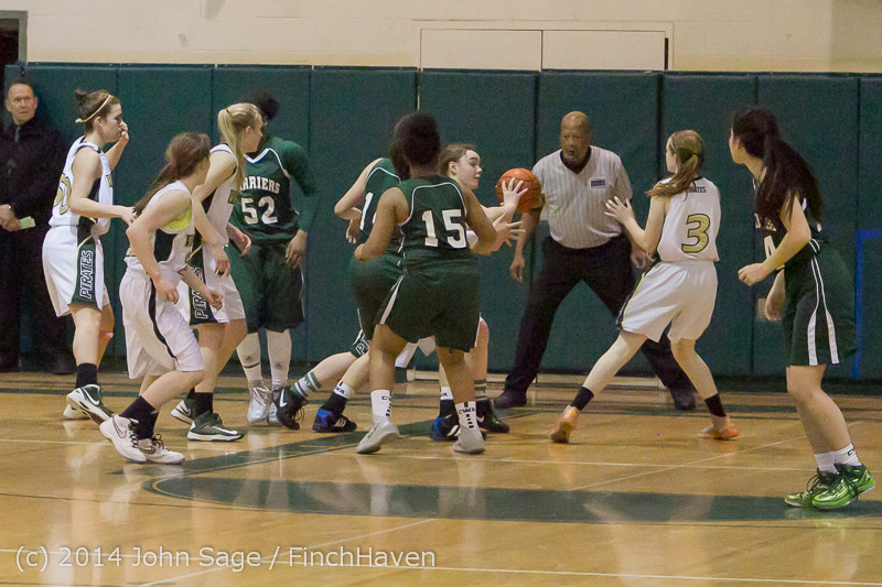 19720 Girls Varsity Basketball v CWA 01172014