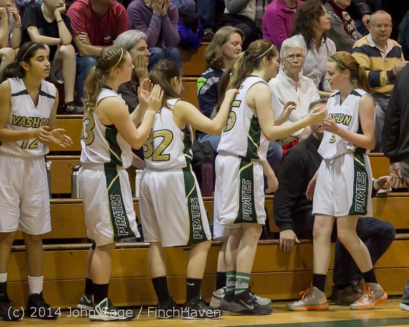 19810 Girls Varsity Basketball v CWA 01172014