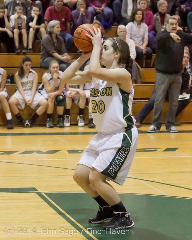 20049 Girls Varsity Basketball v CWA 01172014
