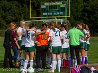 1101 Girls Varsity Soccer v Chief-Sealth 092214