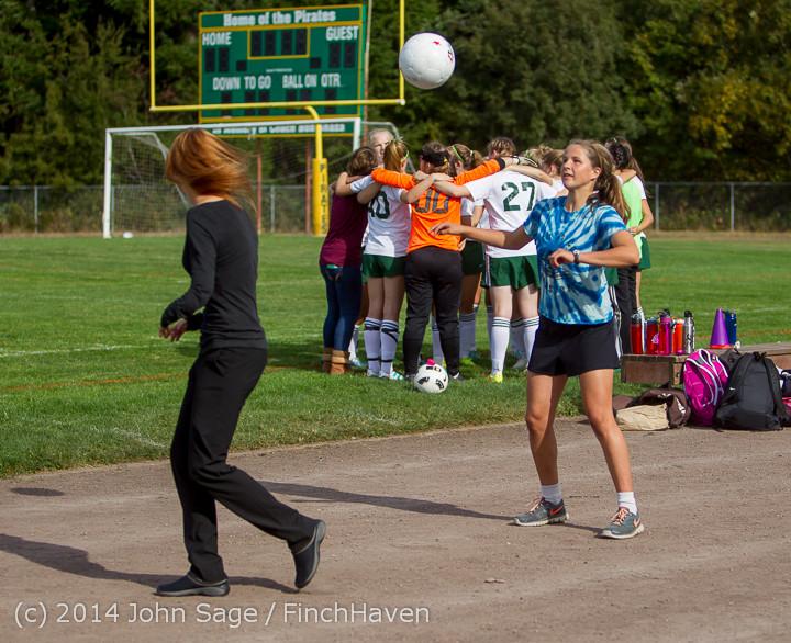 1180 Girls Varsity Soccer v Chief-Sealth 092214