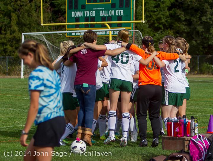 1194 Girls Varsity Soccer v Chief-Sealth 092214