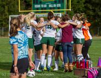 1200 Girls Varsity Soccer v Chief-Sealth 092214