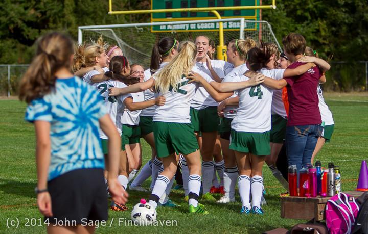 1202 Girls Varsity Soccer v Chief-Sealth 092214