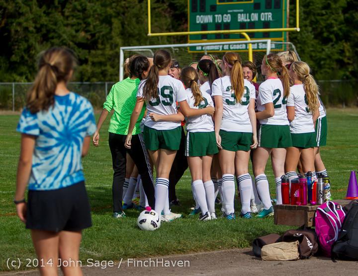 1220 Girls Varsity Soccer v Chief-Sealth 092214
