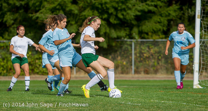 1251 Girls Varsity Soccer v Chief-Sealth 092214