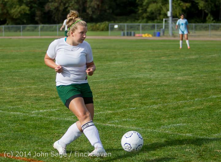 1255 Girls Varsity Soccer v Chief-Sealth 092214