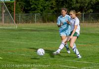 1260 Girls Varsity Soccer v Chief-Sealth 092214