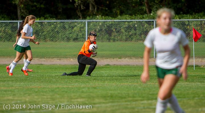 1268 Girls Varsity Soccer v Chief-Sealth 092214
