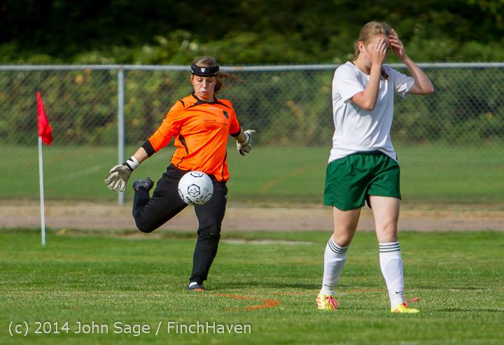 1272 Girls Varsity Soccer v Chief-Sealth 092214