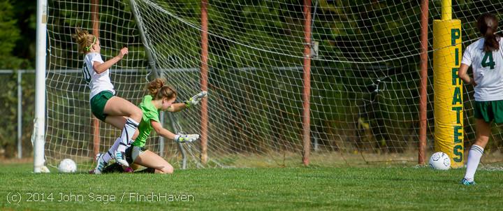 1287 Girls Varsity Soccer v Chief-Sealth 092214