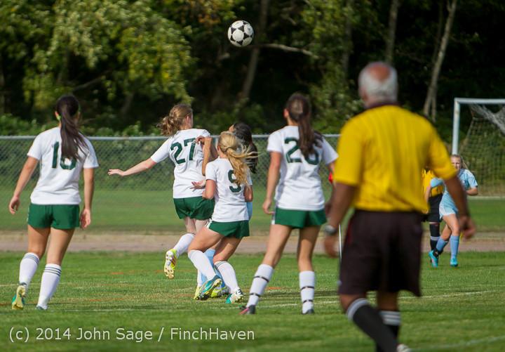 1303 Girls Varsity Soccer v Chief-Sealth 092214