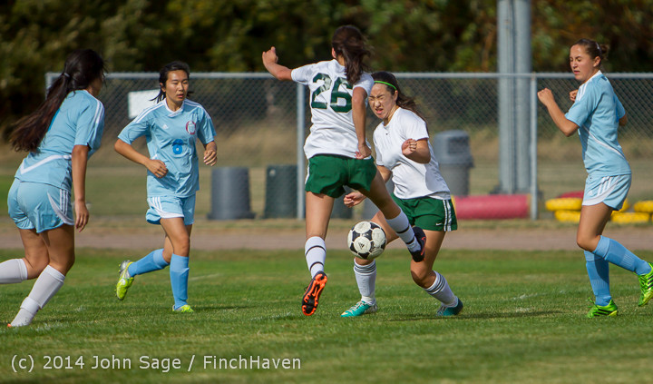 1311 Girls Varsity Soccer v Chief-Sealth 092214