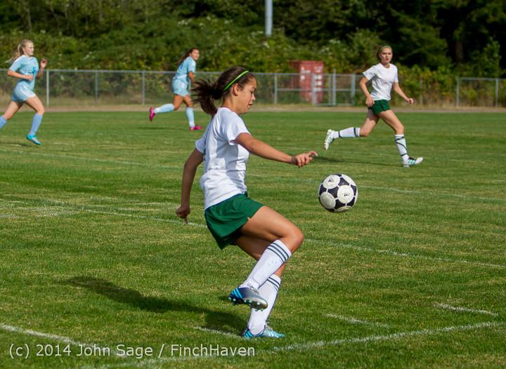 1321 Girls Varsity Soccer v Chief-Sealth 092214