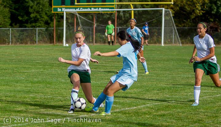 1353 Girls Varsity Soccer v Chief-Sealth 092214