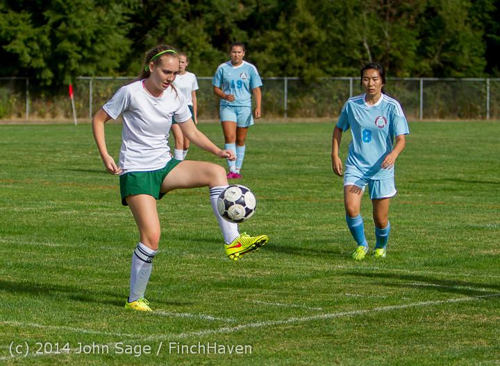 1361 Girls Varsity Soccer v Chief-Sealth 092214
